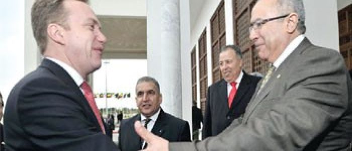 Norwegian Foreign Minister Borge Brende on a working visit in Algeria