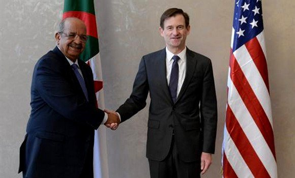 Messahel met the US Under Secretary of State for political affairs